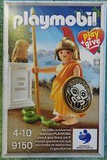 PLAYMOBIL 9150 HISTORY la déesse athena grèce play & give zeus