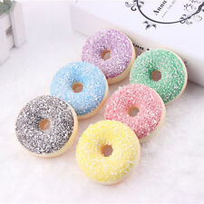 6 Colors Cute Simulation Donuts Toys Artificial Fake Cake Bread Food Home Decor