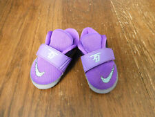 Nike KD Kevin Durant  VII 4 Infant crib shoes Hyper punch baby purple orange New