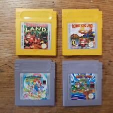 4 X Nintendo Gameboy Paquete De Juegos Super Mario Land 2 Warioland 3 Donkey Kong 1 3