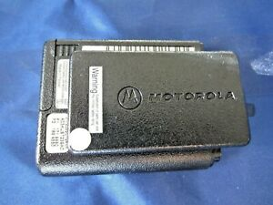 OEM Minitor IV Back Housing Case w/ Clip & Battery Door - Used