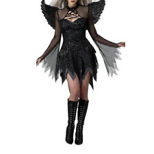 wo Sexy Women's Dark Angel Costume Fancy Dress Night Party Accessories Christmas