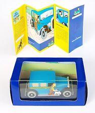 CAR CAR TINTIN ATLAS N°4 TAXI CHECKER TINTIN IN AMERICA BOX + CERTIFICATE