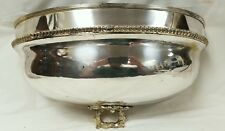 Antique Silverplate Meat Dome Planter (2 of 2)