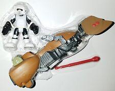 """Star Wars Biker SCOUT TROOPER 2.5"""" Figure Speeder Bike Galactic Playskool Heroes"""