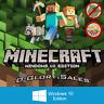 Minecraft: Windows 10 Edition (PC; FULL GAME; Region FREE; DIGITAL KEY)