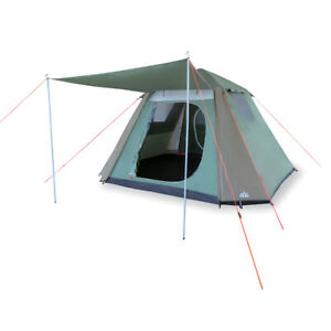 NEW 6P 6 MAN INSTANT UP RAVELS TENT PERSON TENTS (FULL FLY) POP UP TURBO TENT HK