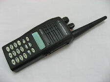 255 canali Motorola GP380 UHF 403-470 MHz 4 W 2-Way Radio + accessori