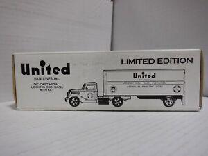 ERTL United Van Lines 1937 Tractor/Trailer Truck 1/2400 Coin Bank 011521MGL2