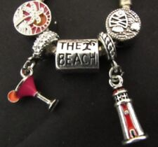Beach Vacation Charms   2P1900 Marine Charms 6 Dreaming Of The Sea Charms
