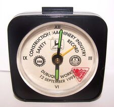 John Deere Dubuque Construction Industry 1995 Safety Record Clock Employee UAW