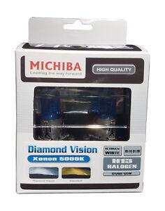 Michiba H13 12v 60/55w 5000K Diamond Vision Bulbs (White)