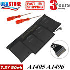 """A1466 Battery for Apple MacBook Air 13"""" Mid 2012 2013 Early 2014 /15 A1405 A1496"""