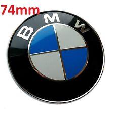 Logo BMW 74 mm Coffre Série E81 E82 E21 E30 E36 E90 E28 E34 E60 E61 E24 E63 E64