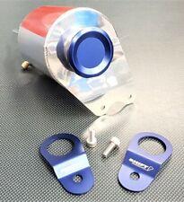 SPP Aluminium Radiator Overflow Bottle & Stays Package Blue Mitsubishi EVO 7-9