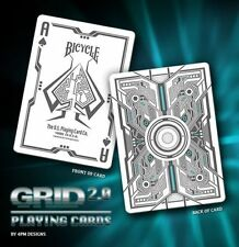 Bicycle Grid 2.0 Original  (Rare) by Gamblers Warehouse - Playing Cards