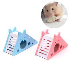 Hamster Hideout Cage Wooden Hamster House with Ladder Slide Hamster ExerciseSJ