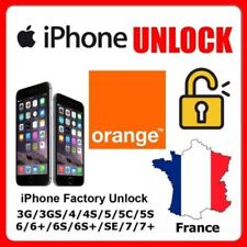 FACTORY UNLOCK CODE SERVICE ORANGE FRANCE FR Apple iPhone 4S 5 5S 5C SE 6 6S 7 8