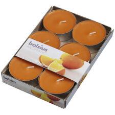 6 Duft Maxi Teelichter saftige Orange im 6er Pack Bolsius Aromatic Teelichte