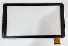 ecran Vitre tactile touchscreen digitizer Logicom L-Ement TAB 1040 / 1040G noir