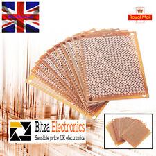 10x Papel Hazlo tú mismo prototipo PCB Placa De Circuito Matriz Universal Experimento 5 X 7 Reino Unido