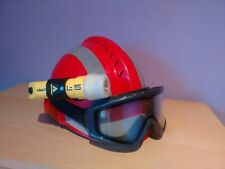 🌟HELMET MSA GALLET F2 XTREM+GLASS MSA+FLASHLIGHT ADALIT L5 PLUS