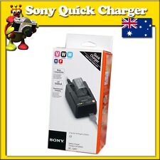 Sony Quick Charger BC-QM1 for V W M H P Series Batteries Australian Plug