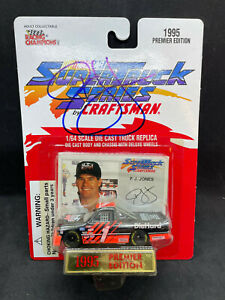 P. J. Jones Autographed Racing Champions Super Truck Series 1:64 NIP 1995 NASCAR