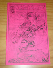 CyberForce #3 VF/NM pink ashcan - pitt - limited to 3,000 - image comics