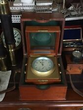 GLASHUTTE Germany marine chronometer 2 box Original Certificate