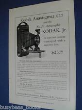 1921 Kodak camera advertisement, No. 2C autographic Kodak Jr