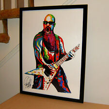 Kerry King Slayer Guitar Thrash Heavy Metal Music Poster Print Wall Art 18x24