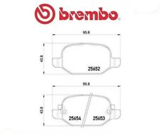 P23150 Kit pastiglie freno a disco post.Fiat 500L (MARCA-BREMBO)