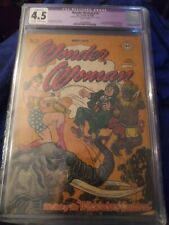 Wonder Woman Issue Number 19 CGC 4.5 Comics book
