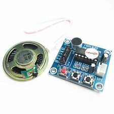 ISD1820 Voice Recording Sound Recorder Module With Micophone + 0.5W Loudspeaker