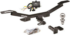 2009-2016 AUDI A4 SEDAN COMPLETE TRAILER HITCH PACKAGE W/ UPGRADED WIRE MODULE