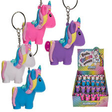 Schlüsselanhänger Einhorn Unicorn pupst kackt bei Druck Glitter Glitzer Farbwahl