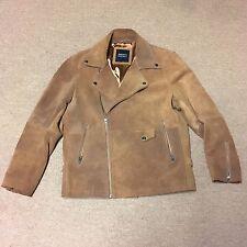 Barney's New York Originals Suede Biker Moto Jacket ASOS