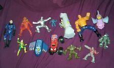 Marvel comics toys lot xmen spiderman wolverine fantastic four action figure kid