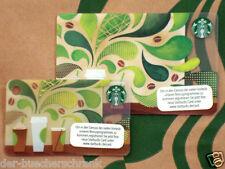 "STARBUCKS ""Coffee Favorites"" gift card Germany - Set of 2 cards - 2 Karten"