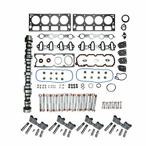 For Chevy GM 5.3L AFM DOD Replacement Kit Head Gaskets Lifters Bolts Camshaft