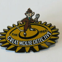 Disney Countdown to the Millennium Series #27 Great Mouse Detective Basil Pin