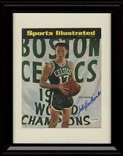 Framed John Havlicek Sports Illustrated Autograph Replica Print - Boston Celtics