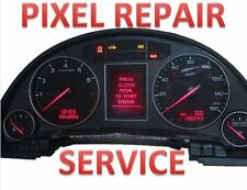 02 03 04 05 AUDI A4 B6 CLUSTER CENTER LCD MISSING PIXELS REPAIR SERVICE