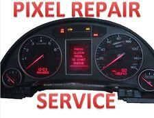 02 03 04 05 AUDI A4 B6 CLUSTER CENTER LCD MISSING PIXELS REPAIR SERVICE
