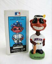 Vtg 1988 TEI Cleveland Indians Mascot MLB Baseball Team Bobblehead w Box