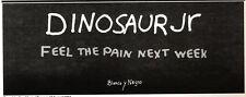 "NEWSPAPER CLIPPING/ADVERT 13/8/94PGN44 DINOSAUR JR : BLANCO Y NEGRO 4X11"""