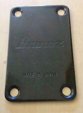 Vintage Ibanez Roadstar II Bass Guitar Original Black Neck Plate Made in Japan