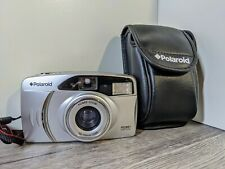 Polaroid PZ2001 Power Zoom 35mm Compact Film Camera. Working with leather case!