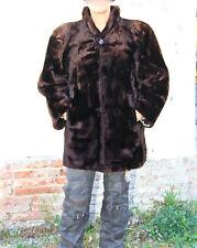 luxueux coat manteau fausse fourrure YVES SAINT LAURENT fourrures T 42/44 i48
